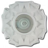 Гипсовый светильник SvDecor SV 7034 белый ф135 мм