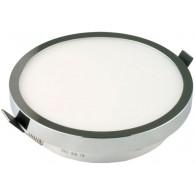 Светильник Светкомплект DLR 12 CHR 12W хром ф150*15 встраиваемый светодиодный, 3000К