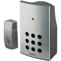 Звонок Zamel ALCALINO беспроводной радиус действия 100м (питание от батареек) ST 337